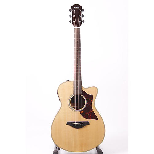 Yamaha A-Series Concert Acoustic-Electric Guitar with SRT Pickup Mahogany Back and Sides 886830730252