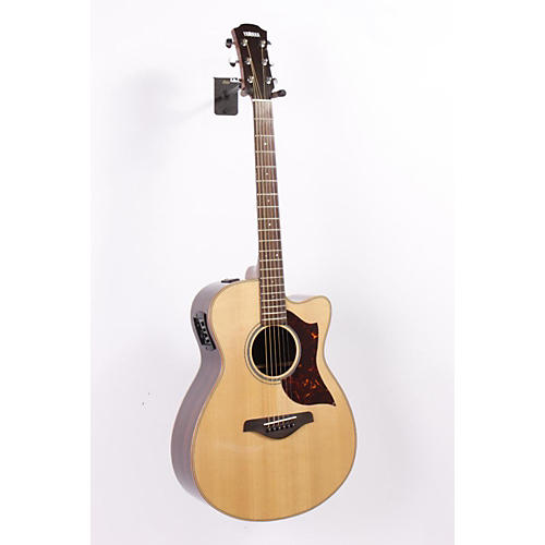 Yamaha A-Series Concert Acoustic-Electric Guitar with SRT Pickup Rosewood Back and Sides 886830814174