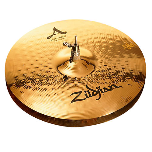 Zildjian A Series Heavy Hi-Hat Cymbal Pair Brilliant 15 in.