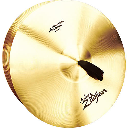 Zildjian A Symphonic French Tone Crash Cymbal Pair-thumbnail