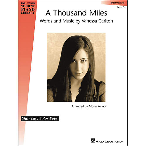 Hal Leonard A Thousand Miles - Showcase Solo Level 5 Intermediate Hal Leonard Student Piano Library by Mona Rejino-thumbnail