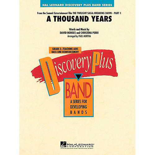 Hal Leonard A Thousand Years Concert Band Level 2-thumbnail