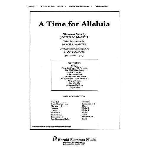 Shawnee Press A Time for Alleluia Score & Parts composed by Joseph M. Martin