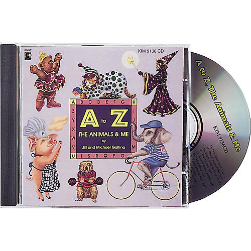 Kimbo A To Z, The Animals and Me CD/Guide-thumbnail