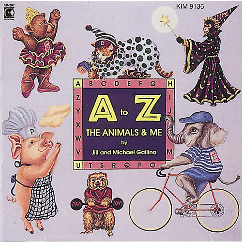 Kimbo A To Z, The Animals and Me Cassette/Guide