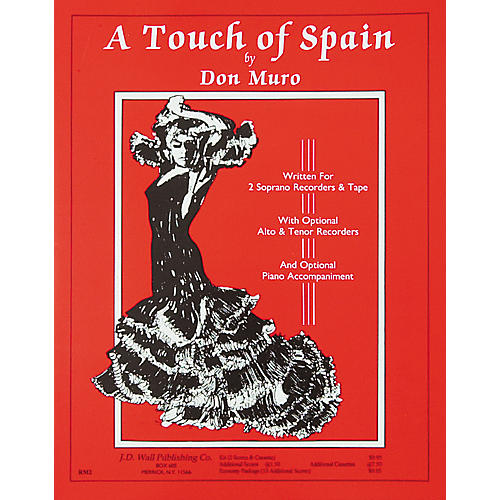 Magnamusic A Touch of Spain Economy Pack- 10 Scores