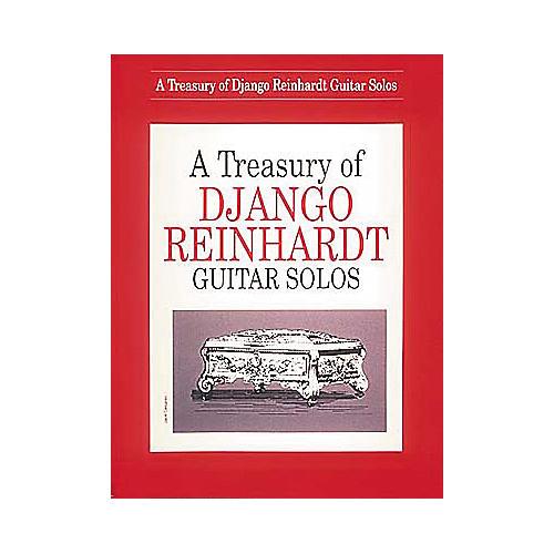 Hal Leonard A Treasury Of Django Reinhardt Guitar Solos Book-thumbnail
