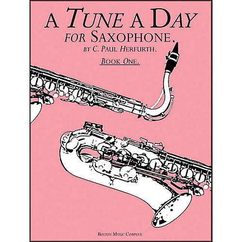 Music Sales A Tune A Day Saxophone Book 1