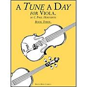 Music Sales A Tune A Day Viola Book 3