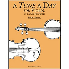 Music Sales A Tune A Day for Violin Book 3