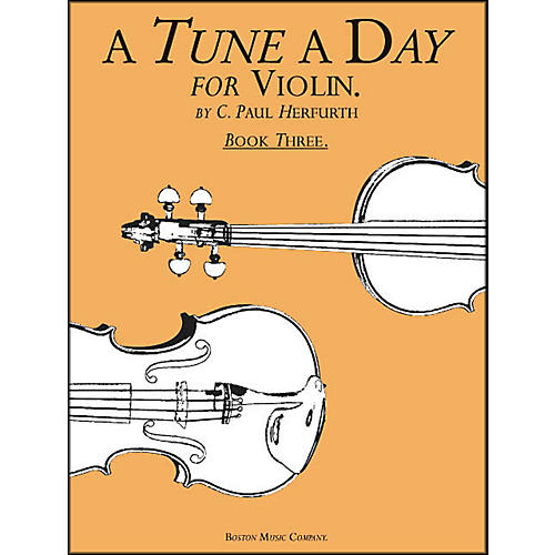 Music Sales A Tune A Day for Violin Book 3-thumbnail