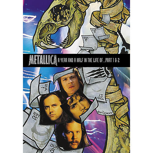Alfred A Year and Half In the Life of Metallica 2-DVD Set