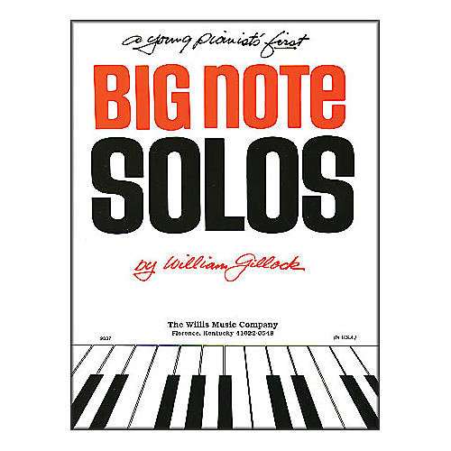 Willis Music A Young Pianist's First Big Note Solos for Piano-thumbnail