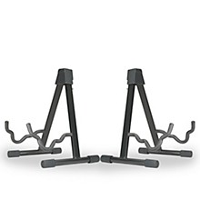 Musician's Gear A-frame Stand for Acoustic, Electric, and Bass Guitars (2 Pack)