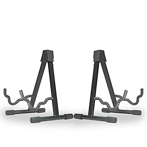 Musicians Gear A-frame Stand for Acoustic, Electric, and Bass Guitars 2 P... by Musician's Gear