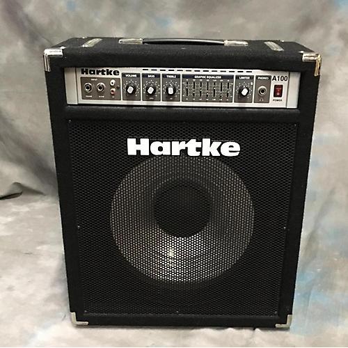 used hartke a100 100w 1x15 bass combo amp guitar center. Black Bedroom Furniture Sets. Home Design Ideas