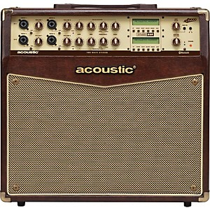 Acoustic A1000 100 Watt Stereo Acoustic Guitar Combo Amp by Acoustic