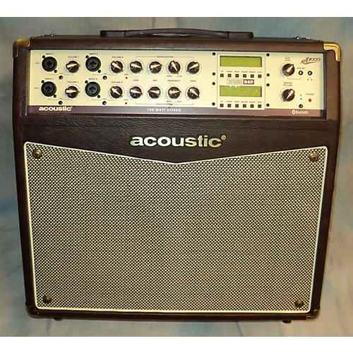used acoustic a1000 2x50w stereo acoustic guitar combo amp guitar center. Black Bedroom Furniture Sets. Home Design Ideas