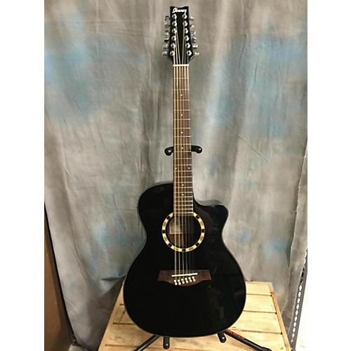 Ibanez A1012E 12 String Acoustic Electric Guitar-thumbnail