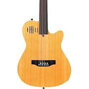 Godin A11 Glissentar 11-String Fretless Acoustic-Electric Guitar