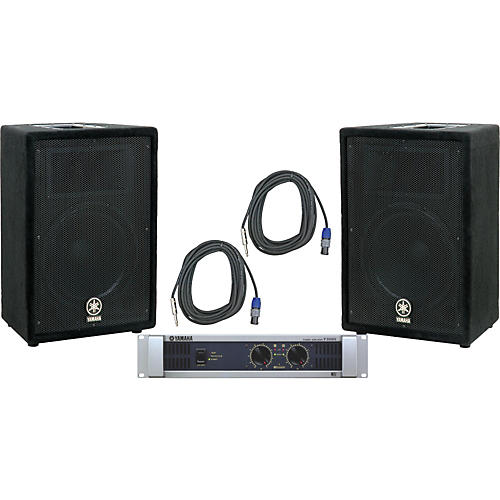Yamaha A12 / P3500S Speaker & Amp Package-thumbnail