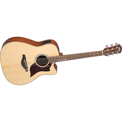 Yamaha A1M Dreadnought Acoustic-Electric Guitar with SRT Preamp/Pickup