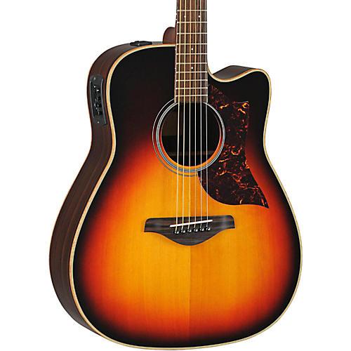 Yamaha A1R Acoustic-Electric Guitar with SRT Pickup Vintage Sunburst