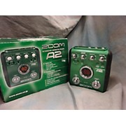 Zoom A2 Acoustic Effects Pedal Effect Processor