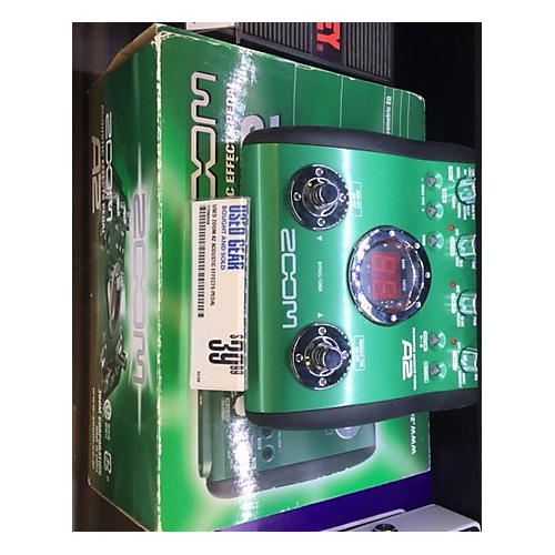 Zoom A2 Acoustic Effects Pedal Multi Effects Processor-thumbnail