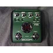 Zoom A2 Acoustic Pedal Effect Processor