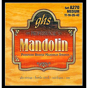 GHS A270 Phosphor Bronze Mandolin Strings by GHS