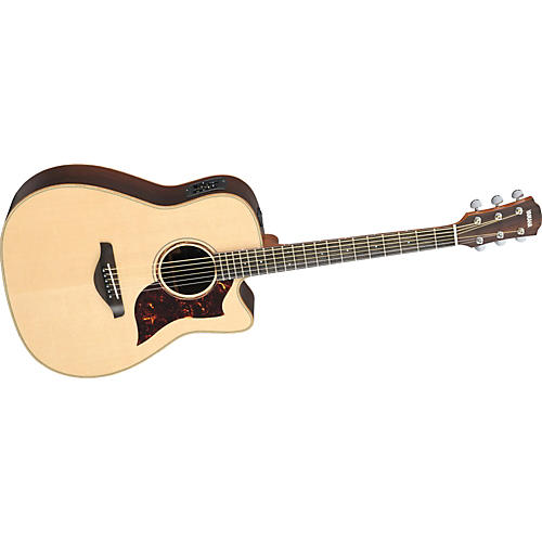 Yamaha A3R All Solid Wood Dreadnought Acoustic-Electric Guitar w/Hardshell Case