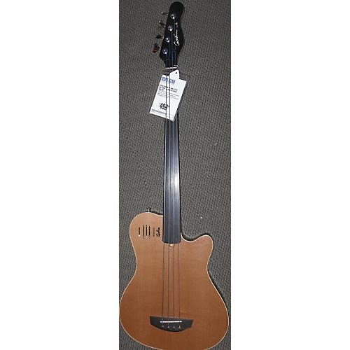 used godin a4 fretless acoustic bass guitar guitar center. Black Bedroom Furniture Sets. Home Design Ideas