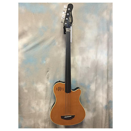 Godin A4 Frettless Bass Acoustic Bass Guitar-thumbnail