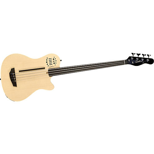 Godin A4 Semi-Acoustic Fretless Bass Guitar with Synth Access