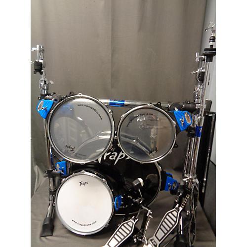 used traps drums a400 portable acoustic drum set drum kit guitar center. Black Bedroom Furniture Sets. Home Design Ideas