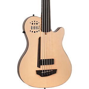 Godin A5 Ultra Bass Fretless SA 5 String Acoustic-Electric Bass Guitar by Godin