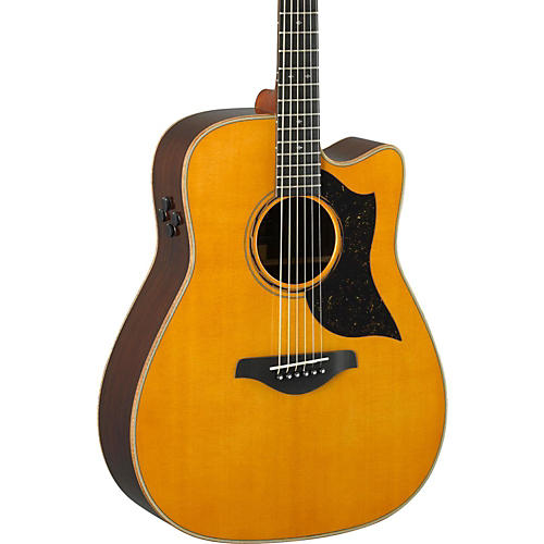 yamaha a5r a series folk acoustic electric guitar vintage natural guitar center. Black Bedroom Furniture Sets. Home Design Ideas
