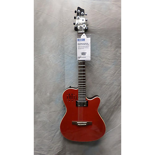 Godin A6 Ultra Red Acoustic Electric Guitar