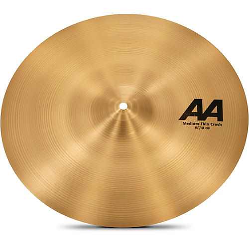 Sabian AA Medium Thin Crash  16 in.