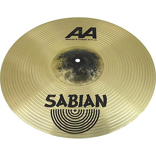 Sabian AA Metal-X Crash Cymbal  16 in.