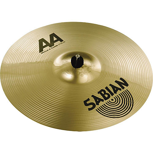 Sabian AA Metal-X Crash Cymbal-thumbnail