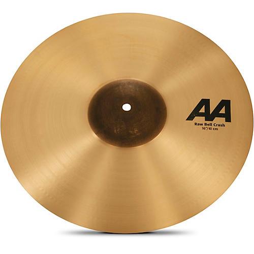 Sabian AA Raw Bell Crash Cymbal-thumbnail