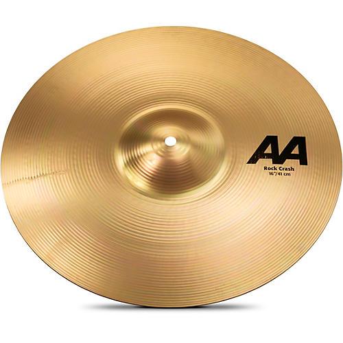 Sabian AA Rock Crash Cymbal Brilliant 16 in.