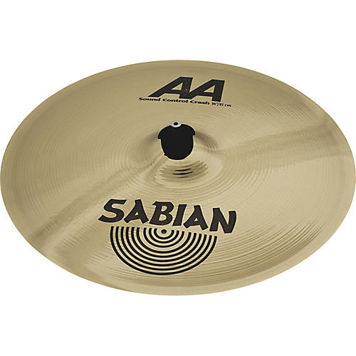 sabian aa sound control crash cymbal guitar center. Black Bedroom Furniture Sets. Home Design Ideas