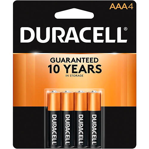 Duracell AAA Batteries 4-Pack