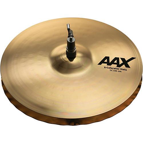 Sabian AAX-Celerator Brilliant Hi-Hat Cymbals-thumbnail