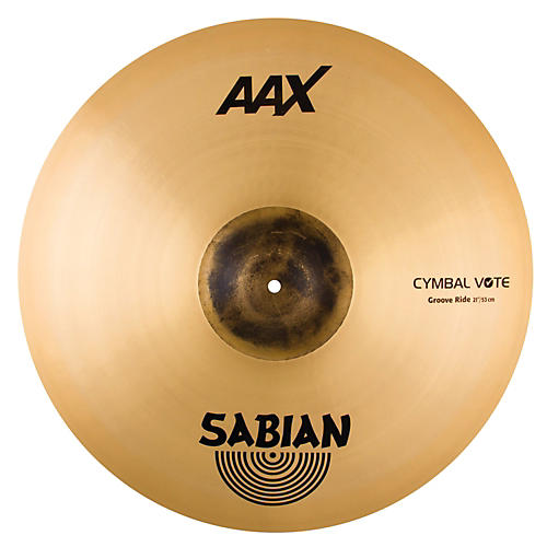 Sabian AAX Groove Ride Cymbal 21 in.