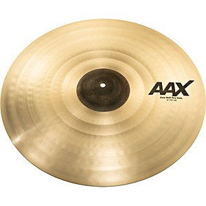 Sabian AAX Raw Bell Dry Ride Cymbal by Sabian