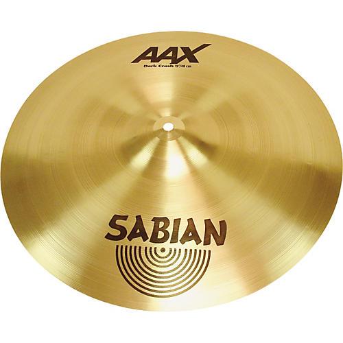 Sabian AAX Series Dark Crash Cymbal-thumbnail